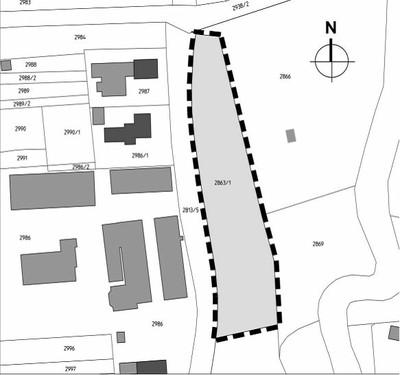 """Vorhabenbezogener Bebauungsplan """"Reitplatz"""" - Plan"""