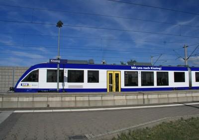 ½-Std-Takt nach München (35 Minuten) ¼-Std.-Takt nach Augsburg (11 Minuten)