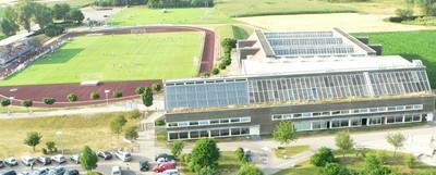 Dreifachsporthalle, Großer Festsaal, Restaurant, Bistro, Chorraum, Jugendzentrum, Schützenheim, Kegelbahnen, Kraftraum, Gymnastikräume