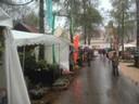 Gartenausstellung begann im Regen