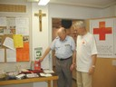 Rotes Kreuz im Rathaus