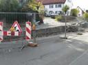 Sanierung der Stützmauer