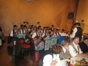 Die Blaskapelle sorgte für die musikalischer Unterhaltung