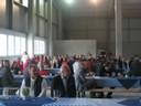 Richtfest in der Halle von Pfaff Silberblau