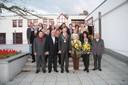 Gruppenfoto des Gemeinderates