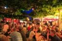 Brunnenfest am Abend