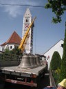 Anlieferung der neuen Glocken