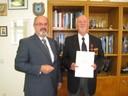 Verdienstkreuz für Manfred Bolz