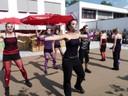 Tanzeinlage auf dem Brunnenfest