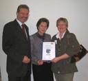 Auszeichnung für die Bücherei
