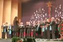 Auch die Chorgemeinschaft des KSC