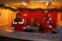 Der Glühwein-Stand vom Roten Kreuz