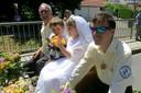 Besonders süß war ein kleines Brautpaar