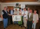 Der neue Vorstand des Fördervereins Bayerischer Hiasl e.V.