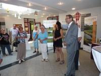 Es kamen zahlreiche Besucher zur Eröffnung.