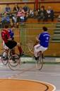 Die Radballer lieferten sich spannende Wettkämpfe