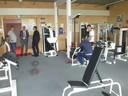 Auch das Fitnessstudio in der Paartalhalle konnte besichtigt werden