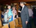Herr Erster Bürgermeister Manfred Wolf mit Gästen
