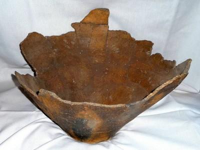 Bronzezeitliche Funde auf Kissinger Flur, Privatbesitz hier: Keramikgefäß der Urnenfelderkultur; Foto: Heinz Schmidt