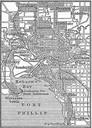 Diese Abbildung stammt aus der 4. Auflage des Meyers Konversationslexikons (1885–90). Das Urheberrecht ist erloschen, die Inhalte sind gemeinfrei.; https://de.wikipedia.org/wiki/Datei:Karte_Melbourne_MKL1888.png
