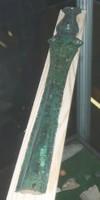 Griffplattenschwert aus Bronze; Foto: Heinz Schmidt